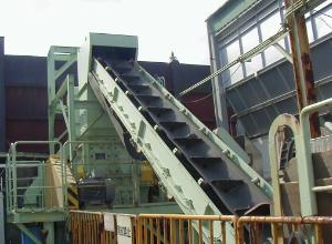 ベルト傾斜コンベア