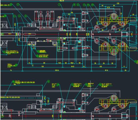 機械設計の設計図